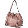 Bolsa Saco Com Cordão de Ajuste e Tassel
