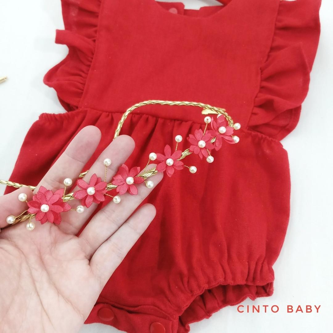 Cinto baby Flowers