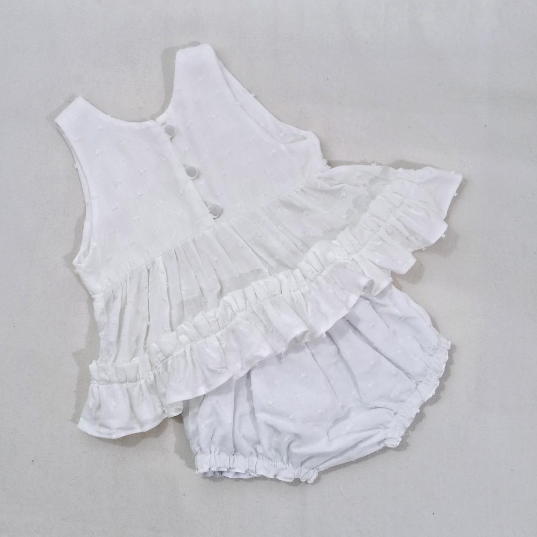 Conjunto baby Branco