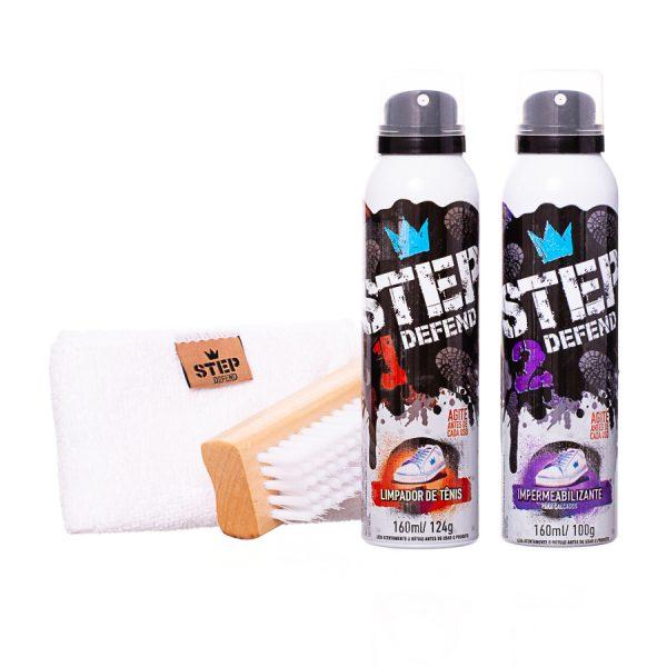 Kit de Luxo de Limpeza e Impermeabilização