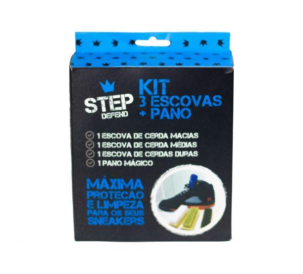 Kit Step Defend 3 Escovas