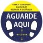 ADESIVO PISO COV 30X30 AGUARDE AM AZUL