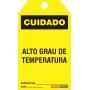 CARTÃO DE TRAVAMENTO - CUIDADO ALTO GRAU DE TEMPERATURA