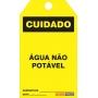 CARTÂO DE TRAVAMENTO - CUIDADO ÁGUA NÃO POTÁVEL
