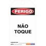 CARTÃO DE TRAVAMENTO -PERIGO NÃO TOQUE