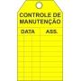CARTÕES CONTROLE E INSPEÇÃO - PACOTE COM 10 UNIDADES