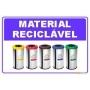 Coleta Seletiva em PVC - Material Reciclável