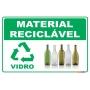 Coleta Seletiva em PVC - Vidro