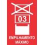 Etiquetas de Logística e Transporte - 10 Unidades. ETLOG 10116