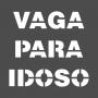 MATRIZ DE PINTURA - VAGA PARA IDOSO