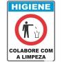 Placa Higiene CCL 20x25cm.