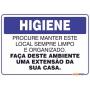 Placa Higiene PLH-001