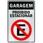 Placa Não Estacione - PES 002