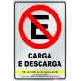 Placa Não Estacione - PES 004