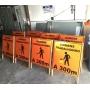 Placas e Cavaletes de Sinalização de Obras -  REFLETIVA