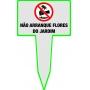 Placas para Jardins - 30x50 cm