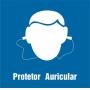 PLAQUETAS PARA PLACAR CIPA - USO PROTETOR AURICULAR
