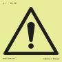 Proibições e Alertas Fotoluminescente - A-1