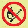 Proibições e Alertas Fotoluminescente - P2