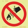 Proibições e Alertas Fotoluminescente - P3