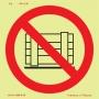 Proibições e Alertas Fotoluminescente - P5