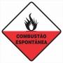 SIMBOLOGIA DE RISCO Combustão Espontânea