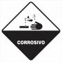 SIMBOLOGIA DE RISCO - CORROSIVO