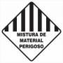 SIMBOLOGIA DE RISCO - MISTURA DE MATERIAL PERIGOSO