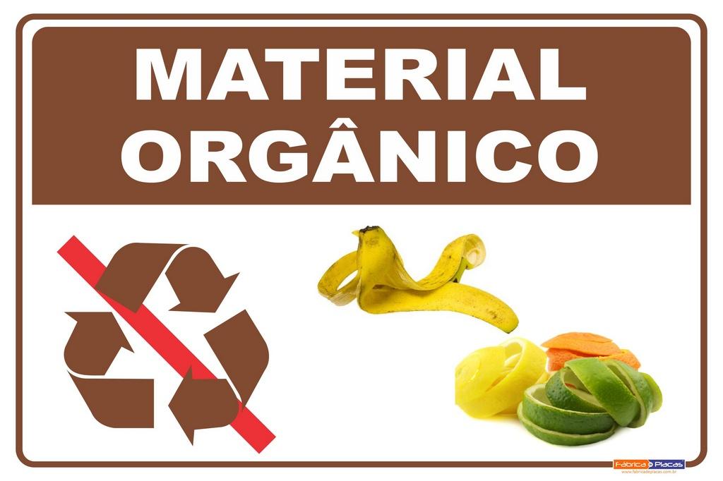 Coleta Seletiva em PVC - Material Orgânico