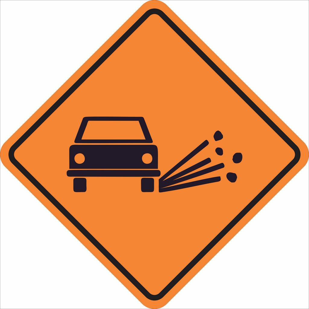 Placas sinalização de Obras 100x100cm - OEP 102