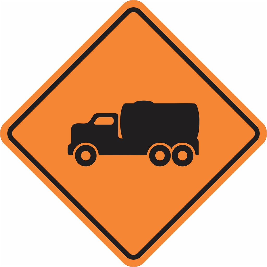 Placas sinalização de Obras 100x100cm - OEP 107