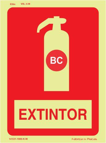 Sinalização de Equipamentos - E5bc