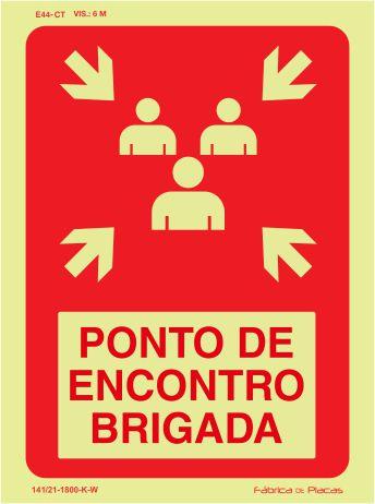 SINALIZAÇÃO PONTO DE ENCONTRO