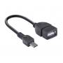 CONVERSOR OTG (MACHO) X USB (FÊMEA) M-USB UFMU-OTG 25542