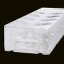 FILTRO DE LINHA CLAMPER 8 TOMADAS ICLAMPER ENERGIA 8 + TEL TRANSPARENTE 013001