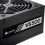 FONTE 500W CORSAIR VS500 CP-9020223-BR (80 PLUS WHITE)