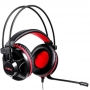 HEADSET GAMER MOTOSPEED H11 PRETO LED VERMELHO FMSHS0052PTO
