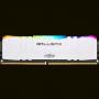 MEMORIA DDR4 8GB 3000MHZ CRUCIAL BALLISTIX RGB BRANCA BL8G30C15U4WL