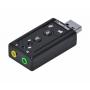 PLACA DE SOM VINIK USB 7.1 VIRTUAL AUSB71