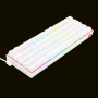 TECLADO GAMER REDRAGON DRACONIC BRANCO K530W-RGB SWITCH BROWN