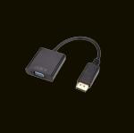 CONVERSOR DISPLAYPORT (MACHO) X VGA (FÊMEA) F3 JC-CB-DVGA