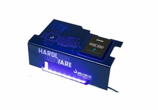 COVER PARA FONTE RISE MODE HARDCORE (COM SUPORTE SSD)