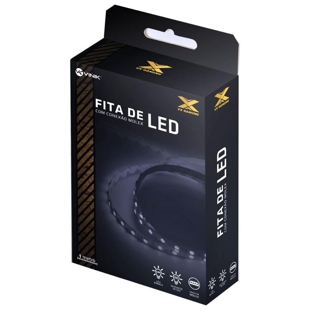 FITA DE LED VINIK BRANCO MOLEX 1 METRO LBM1