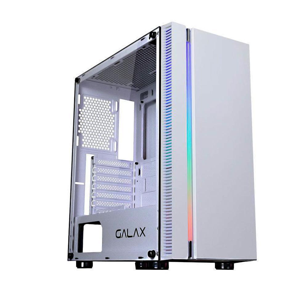 GABINETE GALAX QUASAR BRANCO GX600-WH