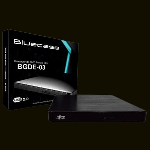 GRAVADOR DE DVD EXTERNO BLUECASE BGDE-03