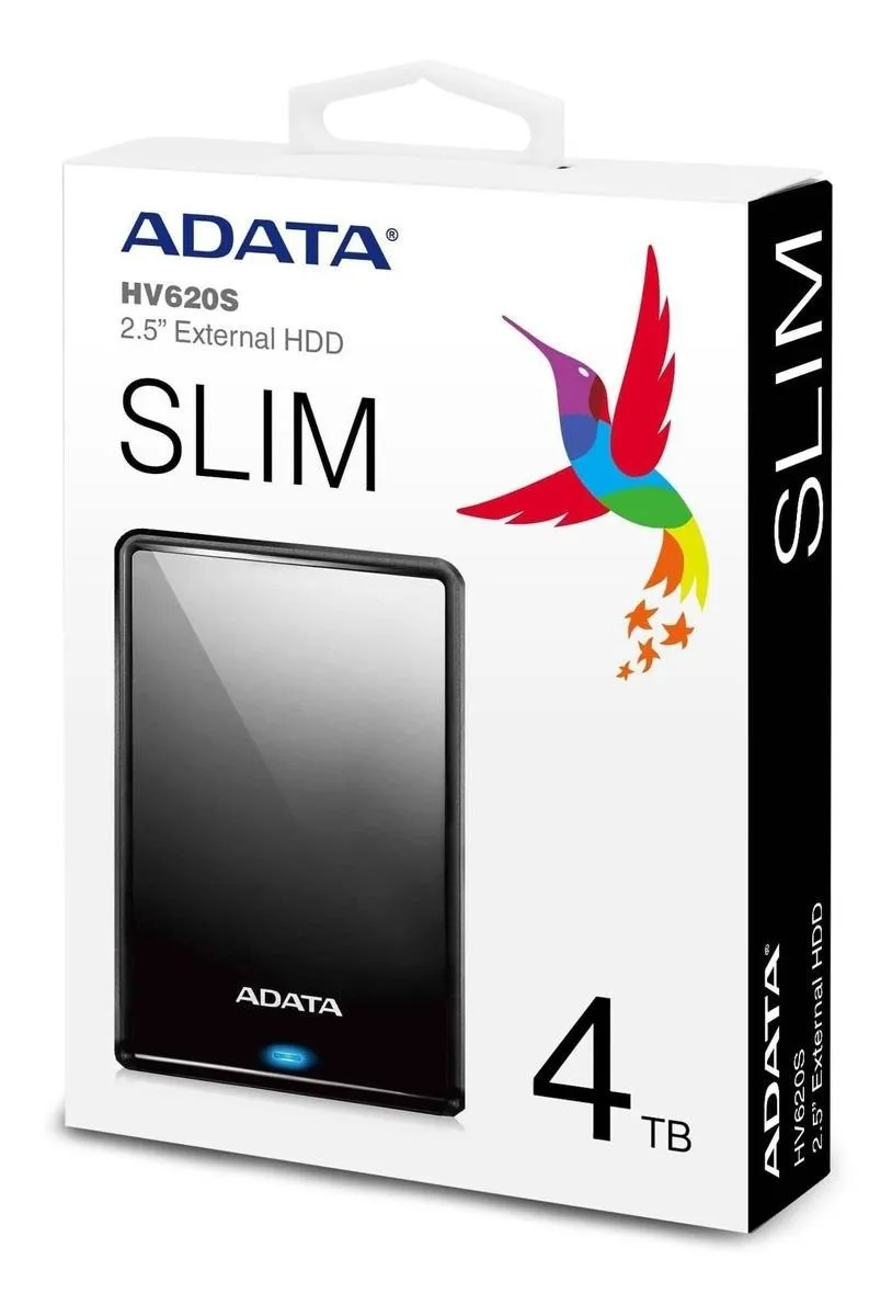 HD EXTERNO 4TB ADATA USB 3.0 AHD710P-4TU31-CBK