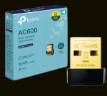 PLACA DE REDE WIRELESS USB TP-LINK AC600 ARCHER T2U NANO