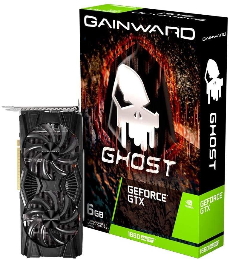 PLACA DE VIDEO GEFORCE GTX 1660 SUPER 6GB GAINWARD NE6166S018J9-1160X-1