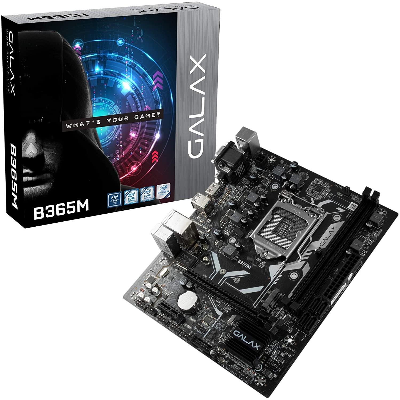 PLACA MAE SOCKET LGA 1151 GALAX B365M IB365MAGCHJ1CW DDR4