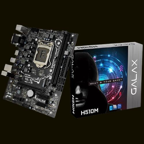PLACA MAE SOCKET LGA 1200 GALAX H510M IH510MAGCGY1CW DDR4